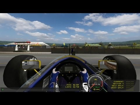 A qualifying run in the F1 1992 mod at Kyalami South Africa. Not the worst lap but not the best either. A bit more practice needed yet.