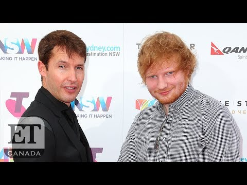 A Timeline Of James Blunt & Ed Sheeran's Bromance