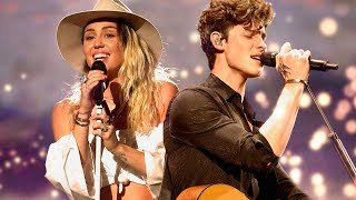 Malibu vs. In My Blood - Miley Cyrus & Shawn Mendes | GRAMMY`S MASHUP