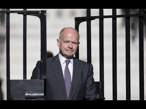 William Hague sensationally QUITS as Foreign Secretary in Brutal Cabinet Bloodbath
