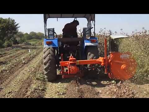 Shaktiman Mobile Shredder   Cotton Chopper With Uprooter video