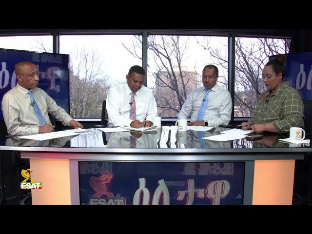 ESAT Eletawi  - About The Roles OF Sheik Al Amoudi On Ethiopian Politics