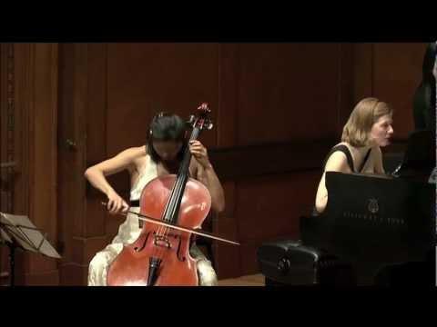 Sophie Shao - Beethoven Sonata No. 5, Mvt 1