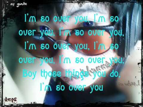 Auburn - So Over You Lyrics
