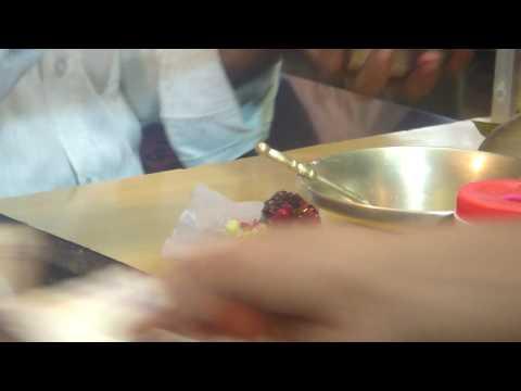 Making pan masala