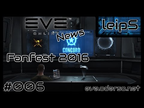 EVE Online News - Fanfest 2016 - EVE Keynote [Deutsch/German]