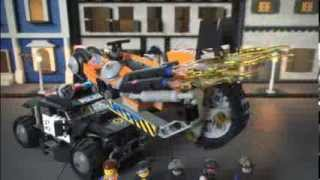 The Lego Movie | 70808 | Super Cycle Chase | Lego 3D Review