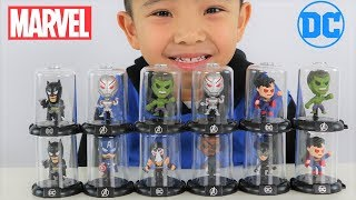 MARVEL Vs DC Superhero Surprise Toys opening Fun With CKN Toys