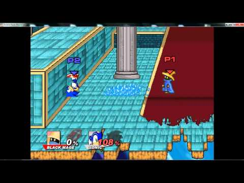Super Smash Flash 2 v0. 8a — Black Mage's New Tricks