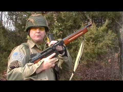 Thompson M1A1 AEG Review part 1 of 2