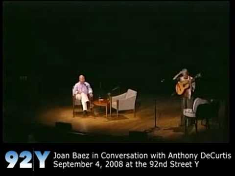 0 Joan Baez There But For Fortune at the 92nd Street Y