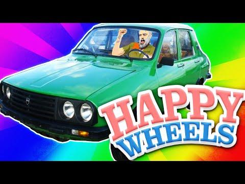 Happy Wheels - Am mers cu Dacia! #Mapele Abonatilor