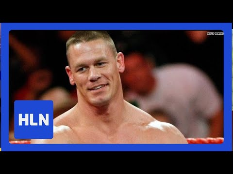 Who's John Cena giving the smackdown to today?