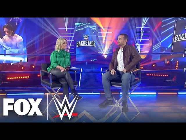 Full Interview: CM Punk answers if he would return to the ring | WWE BACKSTAGE | WWE ON FOX thumbnail