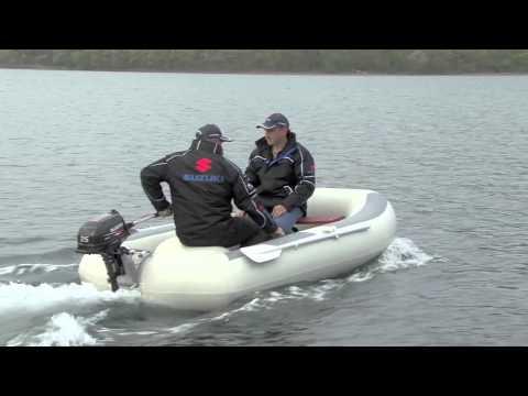 лодки пвх под мотором сузуки видео
