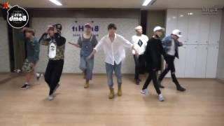 "BTS ""Crow Tit"" Mirrored Dance Practice, 방탄소년단 ""뱁새"" 안무 거울모드"