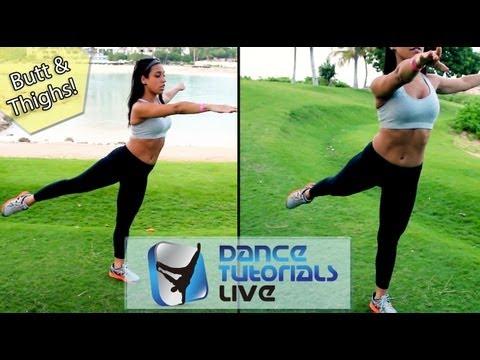 Best LEGS & BUTT Workout   Dancer Body Fitness: 3 Key Exercises »Dana Alexa