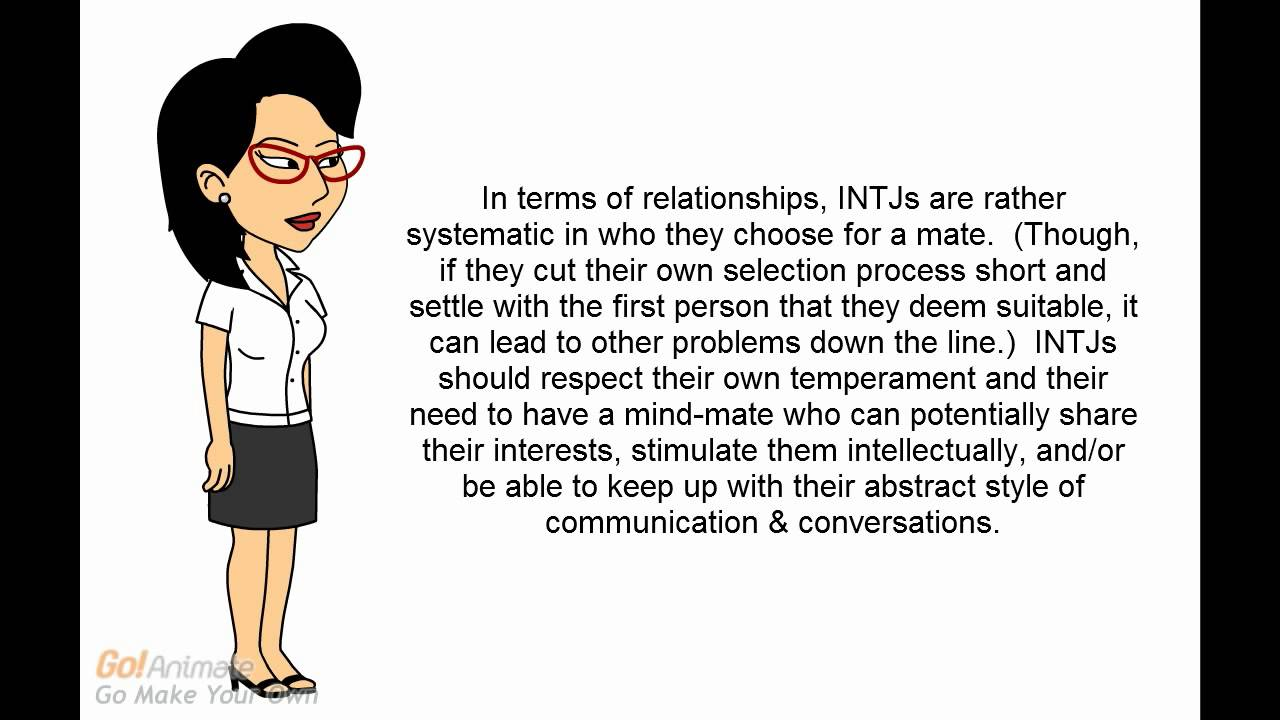 intj females and dating