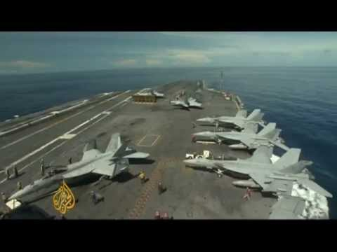 US military spending in question
