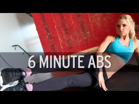 6 Minute Ab Workout