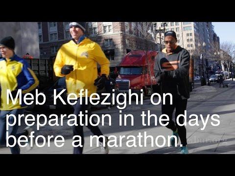 Meb Keflezighi: Preparation before a marathon