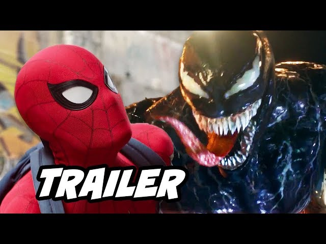 Spider-Man Far From Home Trailer - Venom Spider-Man Teaser Explained by Kevin Feige thumbnail