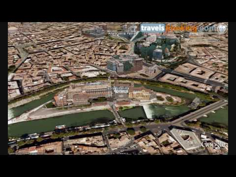Rome Virtual Tour: Monuments - (Google Earth)