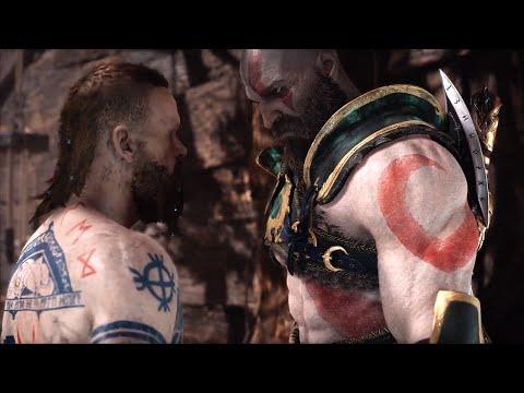 God of War 4 NG+ BALDUR Boss vs Blades of Chaos (GoW 2018 New Game+) PS4 Pro thumbnail