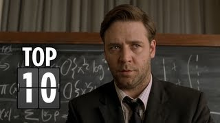Top Ten Geniuses Portrayed In Films - Movie Top 10 List HD