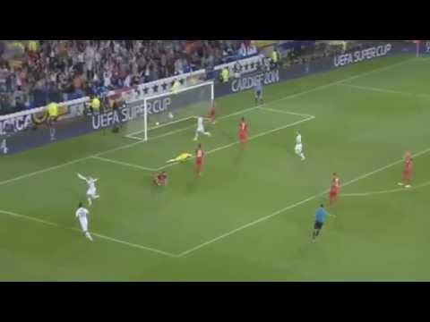 Cristiano Ronaldo Second Goal | Real Madrid vs Sevilla 2 - 0  UEFA Super Cup  2014 HD