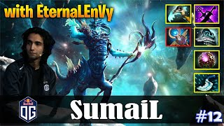 SumaiL - Leshrac Safelane | with EternaLEnVy (QOP) | Dota 2 Pro MMR Gameplay #12
