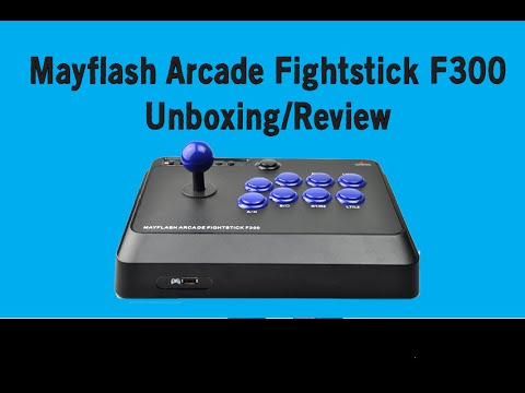 Mayflash F300 Arcade Fightstick Review/Unboxing PS4/PS3/Xbox One/Xbox360/PC
