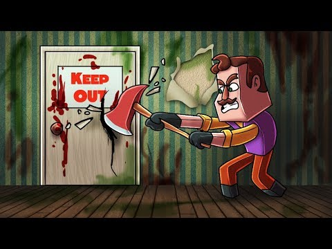 Minecraft   Hello Neighbor - BREAKING OUT OF THE BASEMENT! (Hello Neighbor in Minecraft)