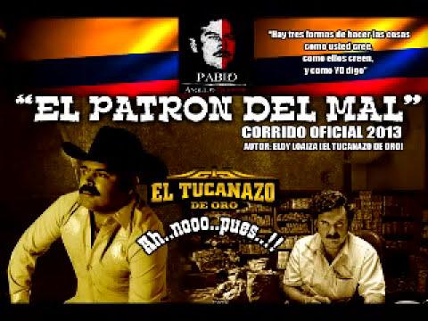 TUCANAZO DE ORO EL PATRON DEL MAL PABLO ESCOBAR 2013