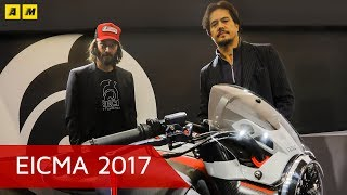 Keanu Reeves: Arch Motorcycle ad EICMA 2017 [SOTTOTITOLI]