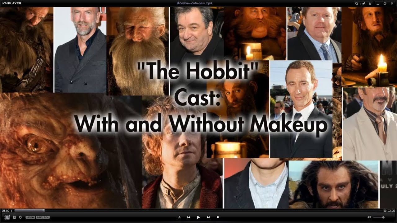 Hobbits Movie Cast The Hobbit Movie Cast With And