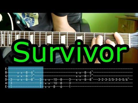 Jak Zagrać - Survivor - Eye Of The Tiger - Kompletna Lekcja HD