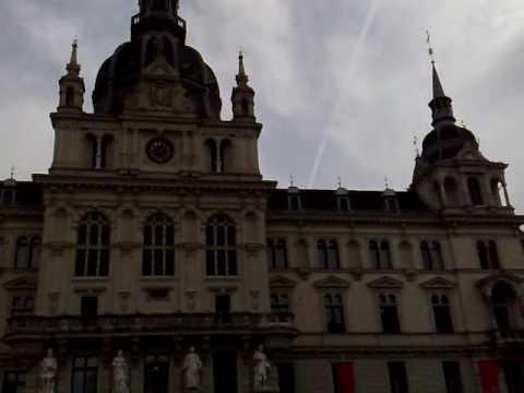 20.03.2010 WAC Frankfurt & Austria Graz Österreich Straße Aktion Chemiestreifen Chemtrails