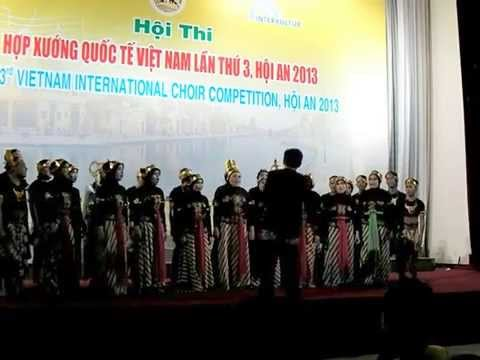 Anging Mamiri - Psm Uin Jakarta, 3rd Vietnam International Choir Competition video