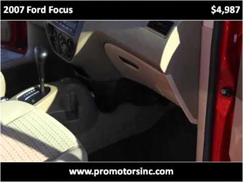 2007 Ford Focus Used Cars Russellville AR