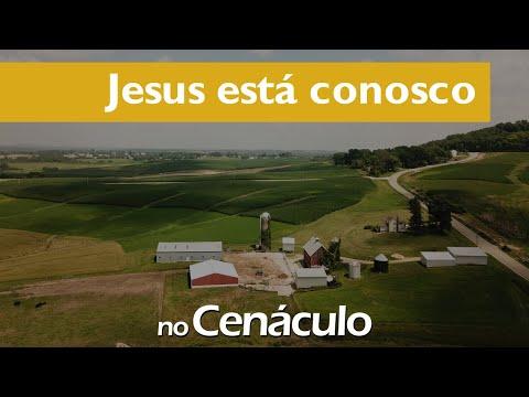 Jesus está conosco | no Cenáculo 25/06/2021
