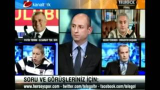 #FatihTerimAyari ? Everything is something happened | TELEGOL! 27.3.2012 - KANALTÜRK