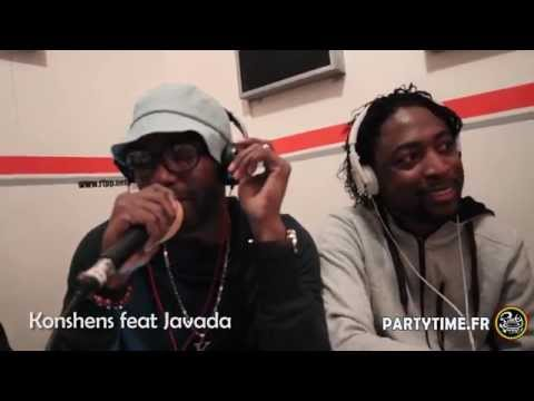 Konshens Feat Javada - Freestyle At Party Time Radio Show - 15 Juin 2014 video
