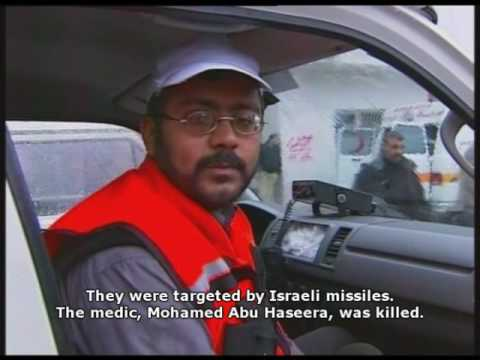 Israel targets ambulances during Gaza airstrikes 31.12.08
