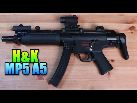 Airsoft - Umarex H&K MP5 A5 Airsoft Gun Review & Gameplay (SC Village Viper Gameplay/Commentary)