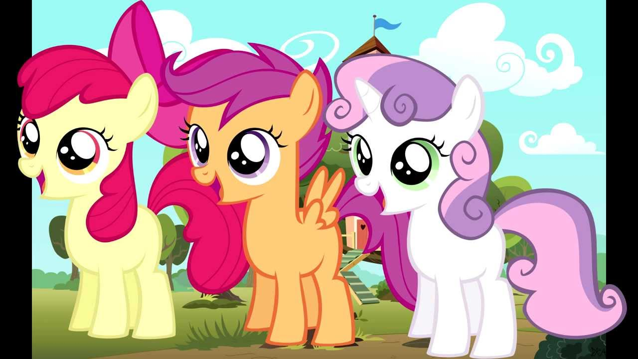 MLP Cutie Mark Crusaders - My Little Pony Games