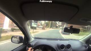Go Pro Hero 3 - Driving point of view