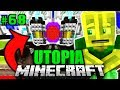 PORTAL im GEHEIMEN LABOR?! - Minecraft Utopia #068 [Deutsch/H...