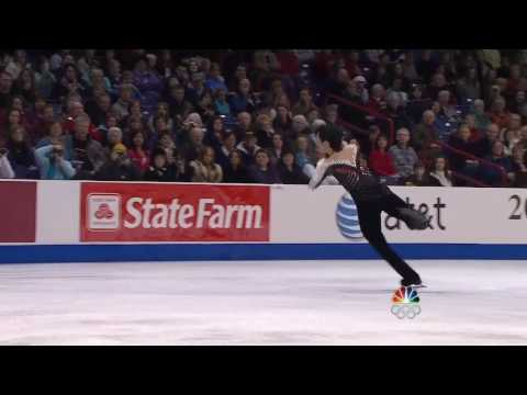 2010 US Championships FS Johnny Weir[NBC-TV]한글자막.avi
