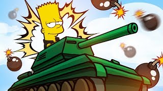BART SIMPSON IN A TANK?